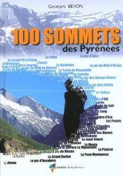 100 sommets des pyrenees - Intérieur - Format classique