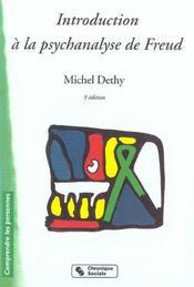 Introduction A La Psychanalyse De Freud 3e Edition - Intérieur - Format classique