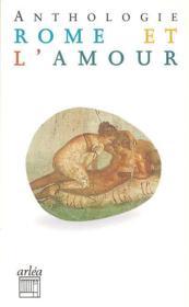Rome Et L'Amour - Couverture - Format classique