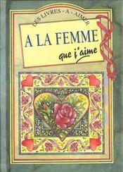A La Femme Que J'Aime - Intérieur - Format classique