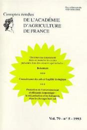 Boisement ; connaissance des sols ; fragilite ecologique ; protection de l'environnement efficacite economique - Couverture - Format classique