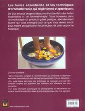 Aromatherapie ; Introduction Pratique - 4ème de couverture - Format classique