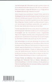 Citoyens Sous Surveillance - 4ème de couverture - Format classique