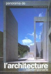 Panorama De L'Architecture Contemporaine - Intérieur - Format classique