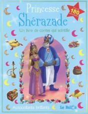 Le monde magique ; autocollants princesse shérazade - Couverture - Format classique