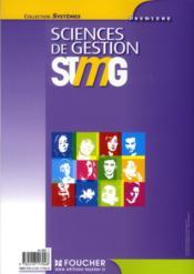 Sciences de gestion ; 1ère STMG - 4ème de couverture - Format classique