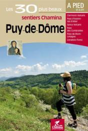 Puy-de-dome les 30 plus beaux sentiers - Couverture - Format classique