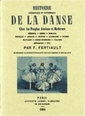 Histoire anecdotique et pittoresque de la danse - Couverture - Format classique