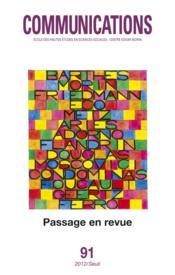 Revue Communications N.91 ; Passage En Revue - Couverture - Format classique