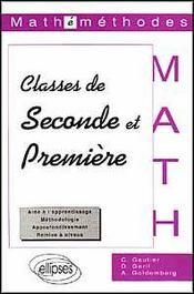 Mathemethodes Classes De Seconde Et Premiere - Intérieur - Format classique