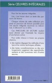 La nausée, de Jean-Paul Sartre - 4ème de couverture - Format classique