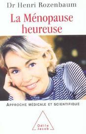 La Menopause Heureuse - Intérieur - Format classique