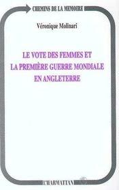 Le Vote Des Femmes Et La Premiere Guerre Mondiale En Angleterre - Intérieur - Format classique