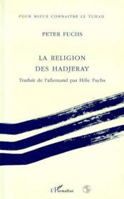 La religion des hadjeray - Couverture - Format classique