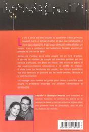 Mettez De L Action Dans Votre Vie De Couple 101 Idees - 4ème de couverture - Format classique