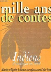 Mille ans de contes indiens - Couverture - Format classique