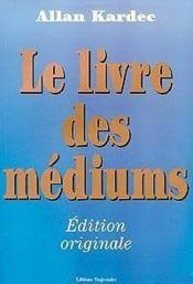 Livre Des Mediums - Couverture - Format classique