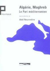 Algerie, maghreb : le pari mediterraneen - Intérieur - Format classique