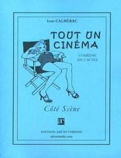 Tout un cinema ; comedie en deux actes - Intérieur - Format classique
