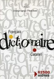 Dictionnaire Francais / Catalan - Intérieur - Format classique
