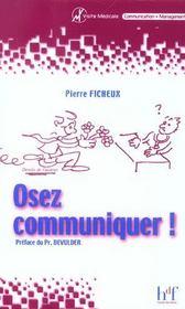 Osez Communiquer ! - Intérieur - Format classique