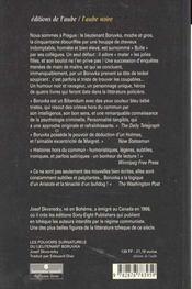 Les Pouvoirs Surnaturels Du Lieutenant Boruvka - 4ème de couverture - Format classique