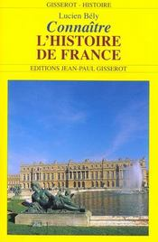 Connaitre L'Histoire De France - Intérieur - Format classique