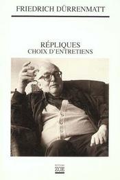 Repliques - Choix D'Entretiens - Intérieur - Format classique