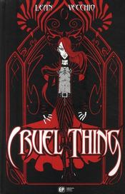 Vente livre :  Cruel things  - Lean