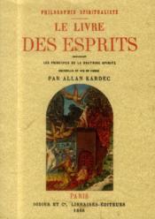 Le livre des esprits - Couverture - Format classique