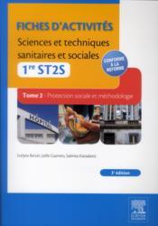 Sciences et techniques sanitaires et sociales ; 1ère ST2S ; pôles 2 et 3 ; TD-TP (3e édition) - Couverture - Format classique