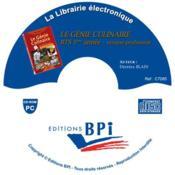 Cd Le Genie Culinaire - Bts 1ere Annee - Couverture - Format classique