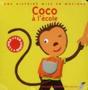 Coco à l'école - Couverture - Format classique