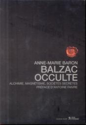 Balzac occulte - Couverture - Format classique
