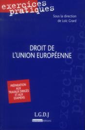 Droit de l'union européenne (2e édition) - Couverture - Format classique
