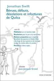 Vente  Bévues, défauts, désolations et infortunes de Quilca  - Jonathan Swift - Jacques Grand