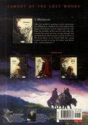 Lament of the lost moors t.2 ; Blackmore - 4ème de couverture - Format classique