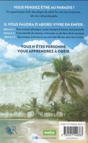 La symphonie des abysses t.1 ; la partition d'Abrielle - 4ème de couverture - Format classique