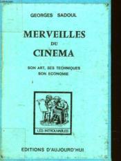 Les Merveilles Du Cinema - Couverture - Format classique