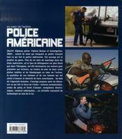 Police américaine - 4ème de couverture - Format classique