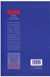 Immigres En Europe Le Defi Citoyen - 4ème de couverture - Format classique