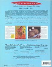 Cromagnon - 4ème de couverture - Format classique