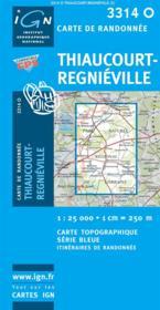 Thiaucourt ; Régnieville - Couverture - Format classique