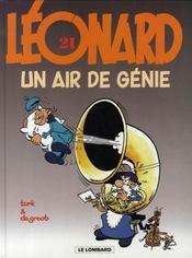 Léonard t.21 ; un air de génie - Intérieur - Format classique