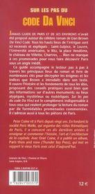 Sur les pas du code da Vinci ; le guide - 4ème de couverture - Format classique
