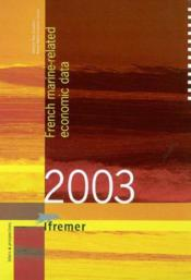 French Marine-Related Economic Data 2003 - Couverture - Format classique