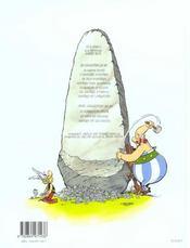 Astérix t.31 ; Astérix et Latraviata - 4ème de couverture - Format classique