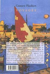 Voyages - 4ème de couverture - Format classique