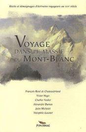 Voyage Dans Le Massif Du Mont Blanc - Intérieur - Format classique