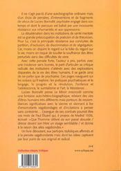 Miroir ensorcele - 4ème de couverture - Format classique